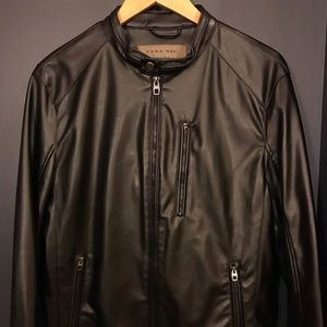 Other - Vegan leather motocross jacket